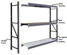 STORAGE RACKS - DECKING RACKS